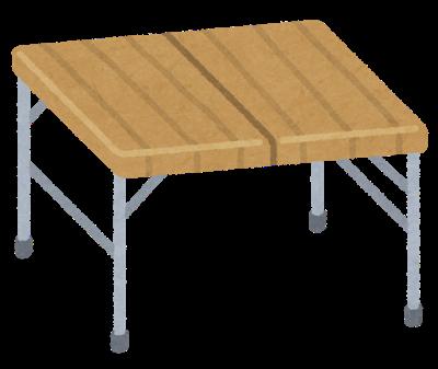 テーブル動画